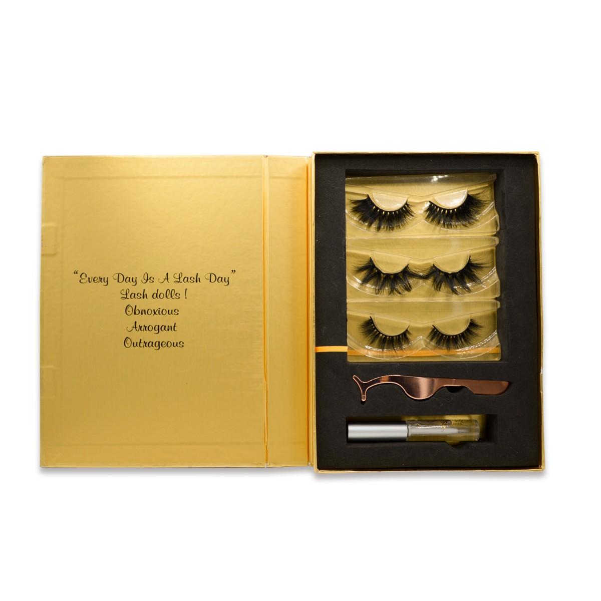 golden Suit  eyelash book-3