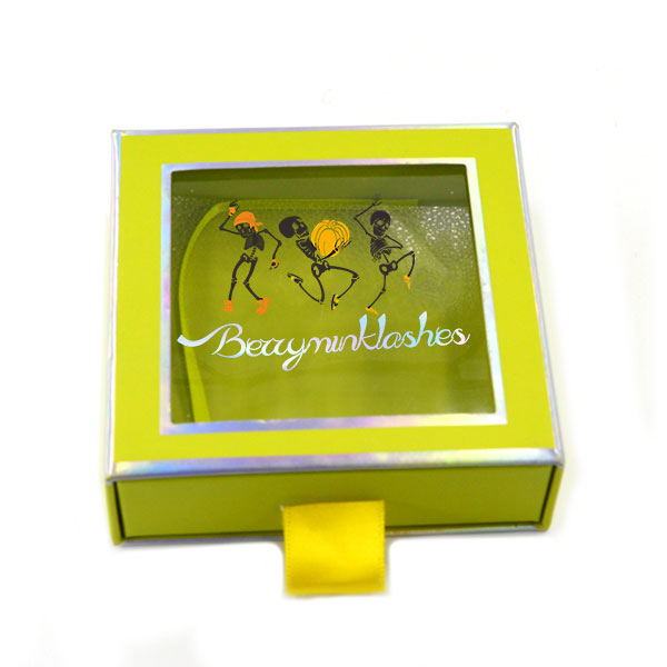 Packaging box customized logo effect drawing (15)