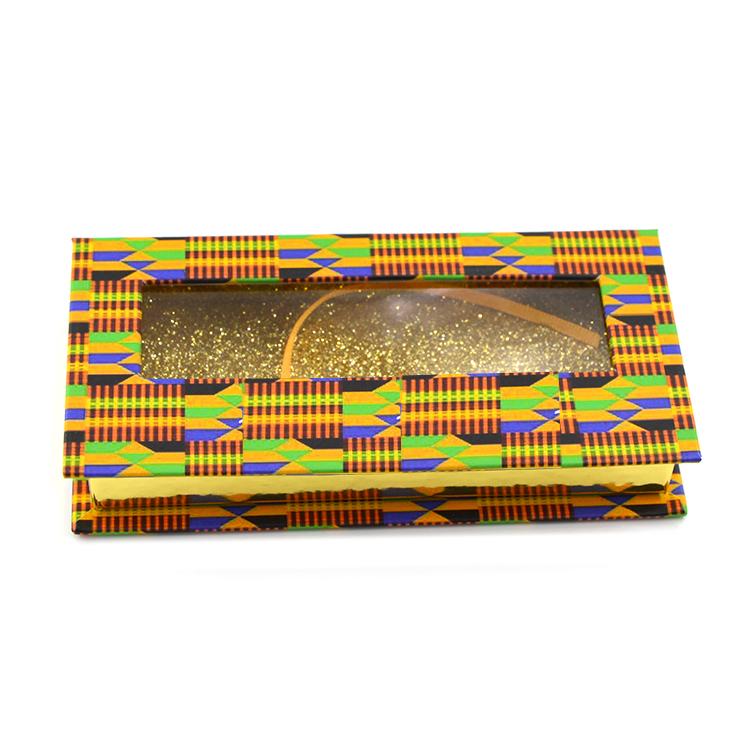 Custom rectangular lash box with window (4)