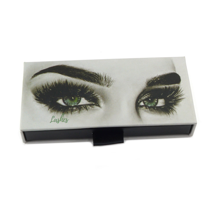 custom logo square eyelash packaging boxes with pull out handle-  (3)