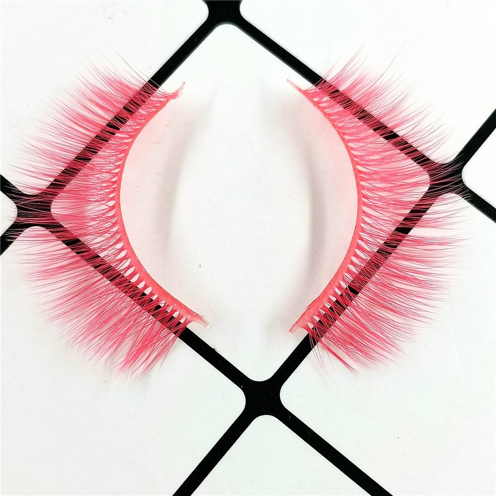 Light Pink 3D Silk Eyelashes